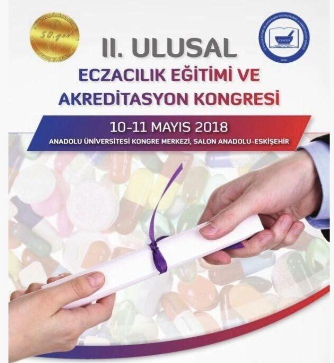 II. Ulusal Eczacılık Eğitimi ve Akreditasyon Kongresi Sonuç Bildirgesi yayınlandı