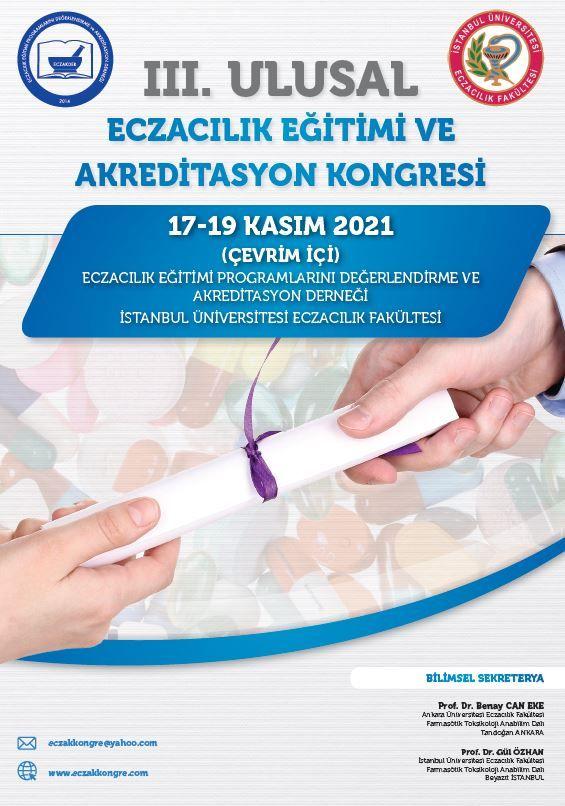 3. Ulusal Eczacılık Eğitimi ve Akreditasyon Kongresi